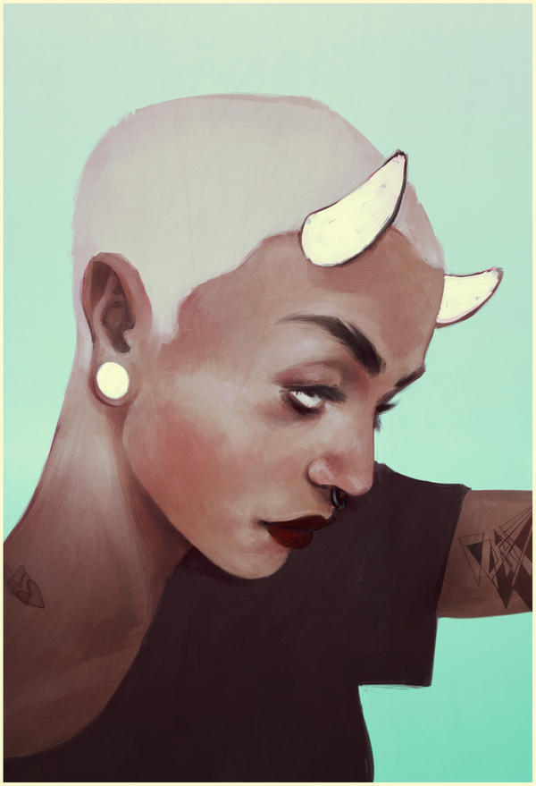 they crossed my horns out by andrahilde
