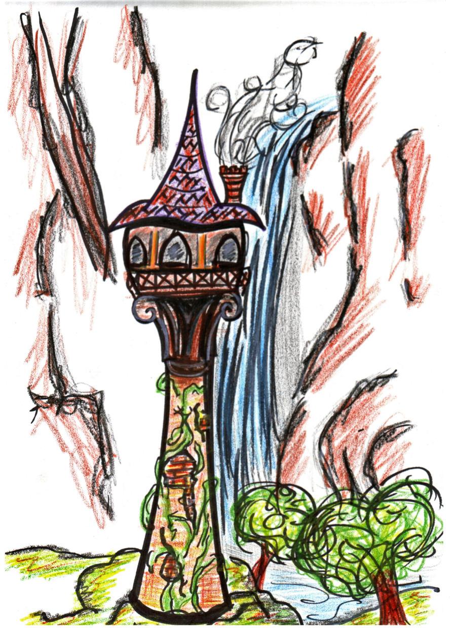 Rapunzel's Tower by Midair510 on DeviantArt