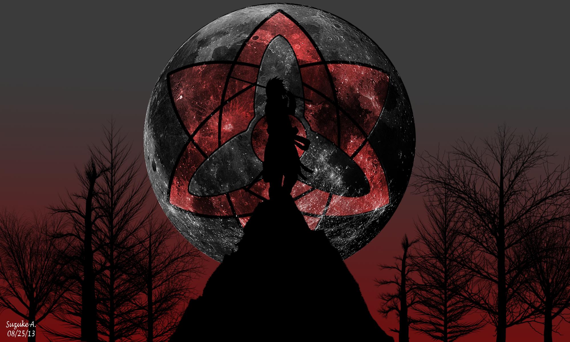 Sasuke uchiha eternal mangekyo sharingan by ...