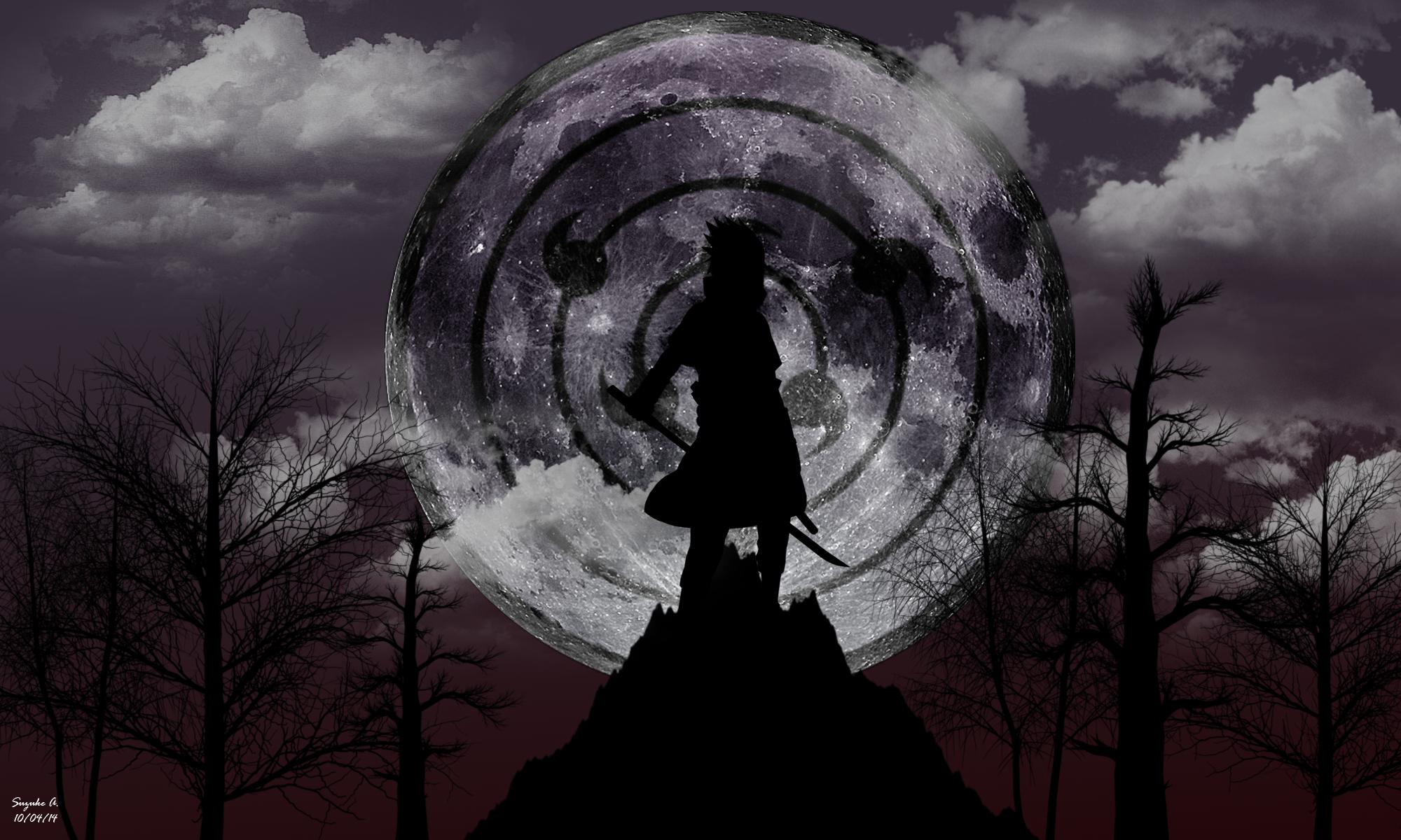 Sasuke uchiha rinnegan moon eye wallpaper by suzukeamaterasu on sasuke uchiha rinnegan moon eye wallpaper by suzukeamaterasu voltagebd Image collections