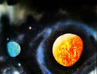 Rogue Planetary System by FleursDuMal00