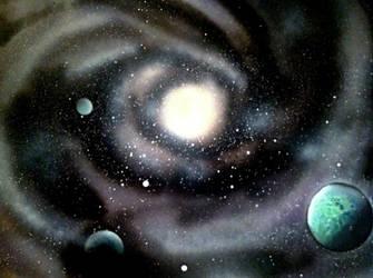 Inner Galaxy by FleursDuMal00
