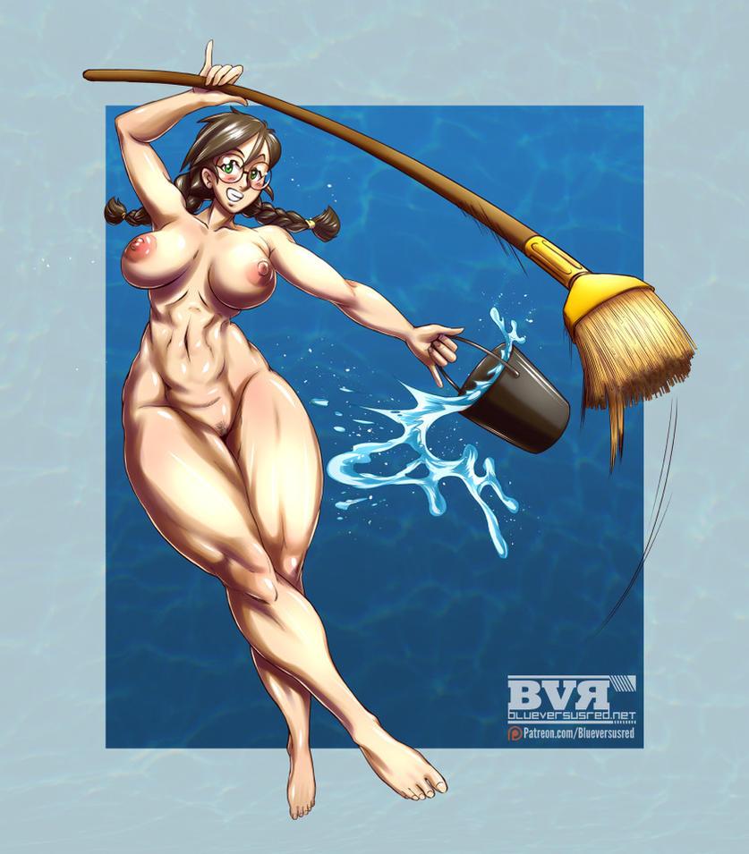 Fanart: OC Layla by BlueVersusRed