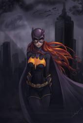 Justice League Batgirl by LalinSan