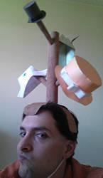 Hat Rack Hat by SHOTGUN12