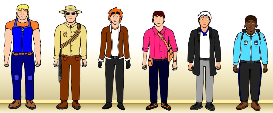 The Godspeed Team Lineup by SHOTGUN12