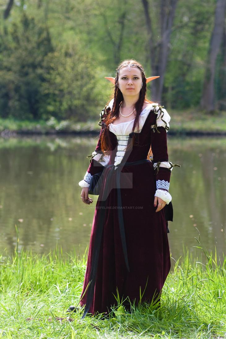 Lady elf costume by sombrefeline ...  sc 1 st  sombrefeline - DeviantArt & Lady elf costume by sombrefeline on DeviantArt