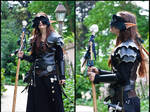 Black witch costume by sombrefeline