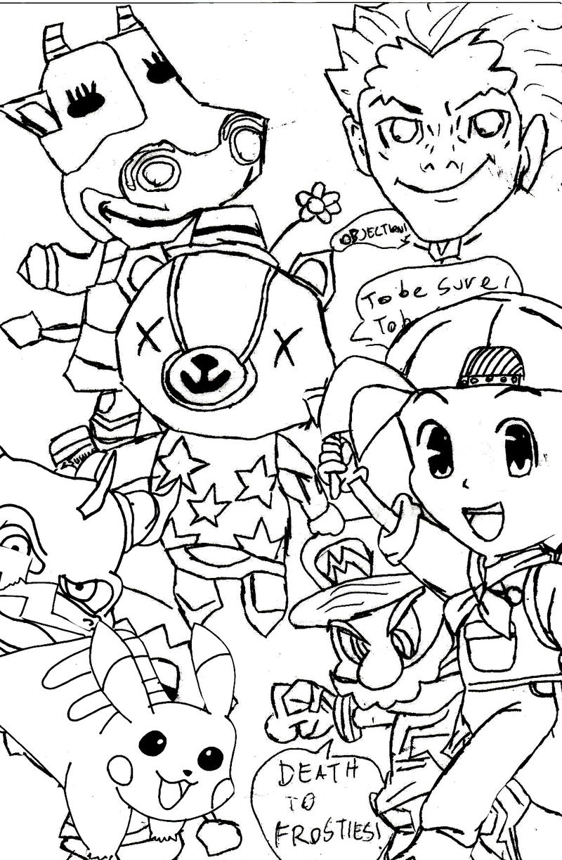 nintendo coloring pages free - photo #40