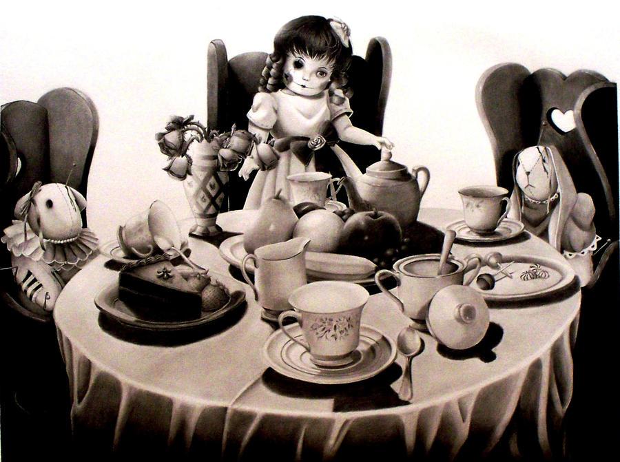 Tea Party by o0-DarcyDoll-0o
