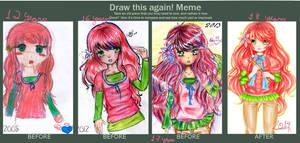 Draw this again meme!