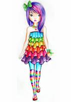 Rainbow by funandcake
