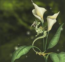 Lily dragon FIN by Mystalia