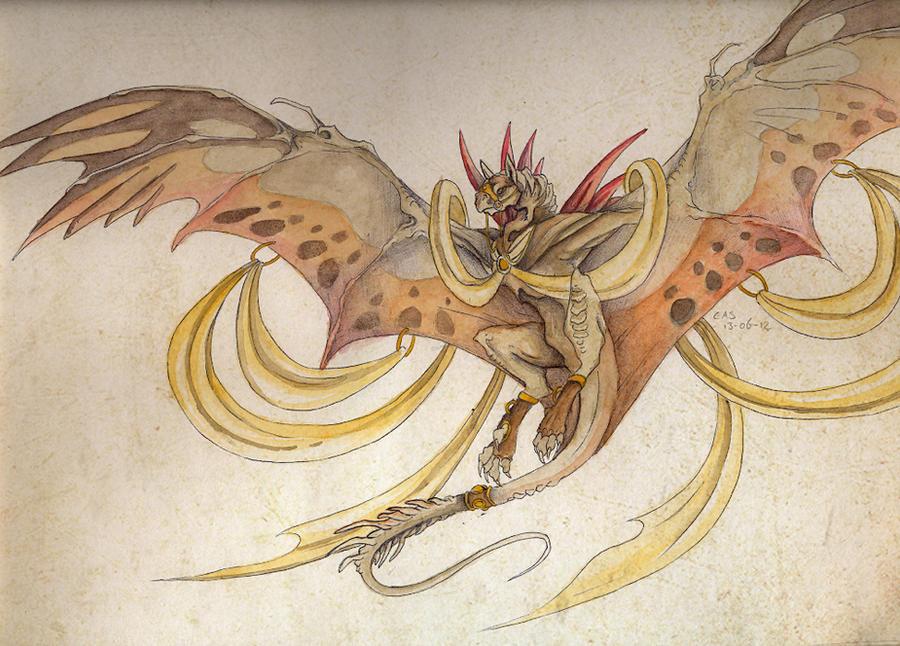 The regal butterfly by Mystalia