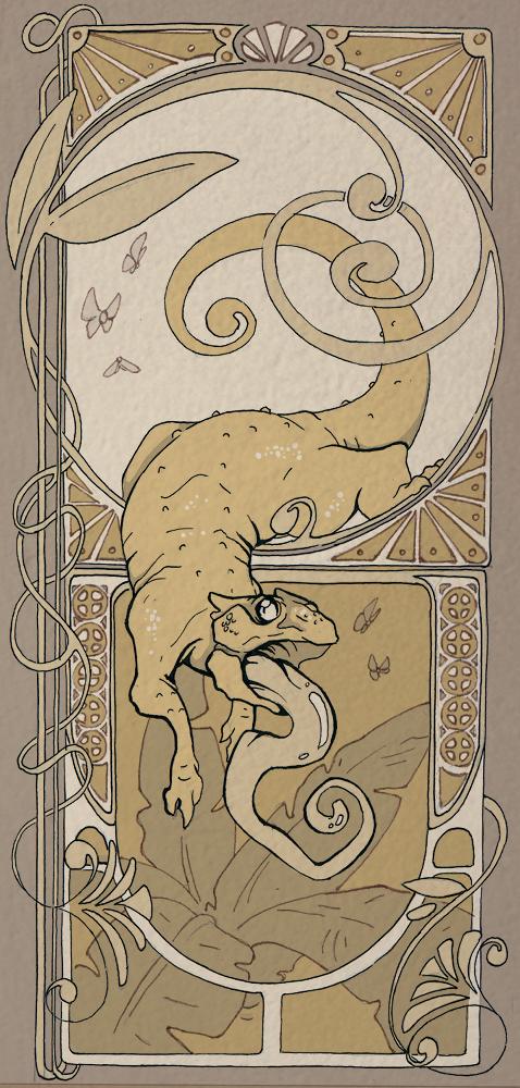 Lil Chameleon by Mystalia