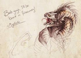 Brb serpent by Mystalia