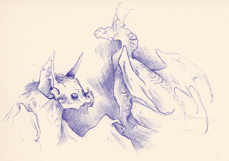 Pen doodles #3 by Mystalia
