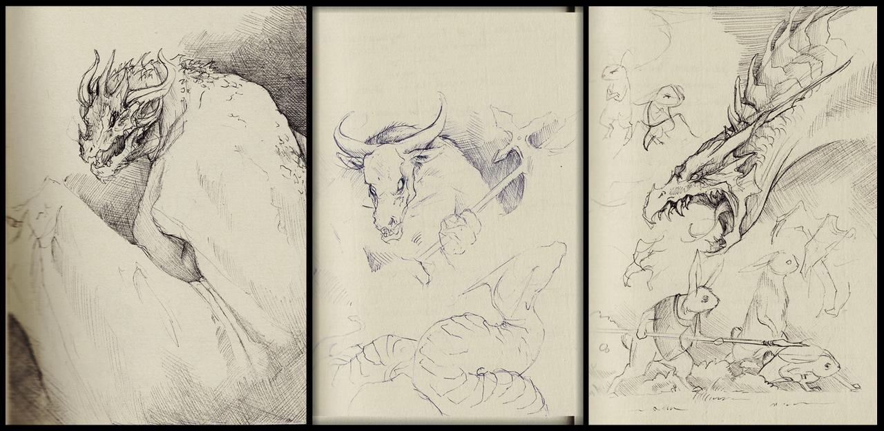Sketchdump 09-12-14 by Mystalia
