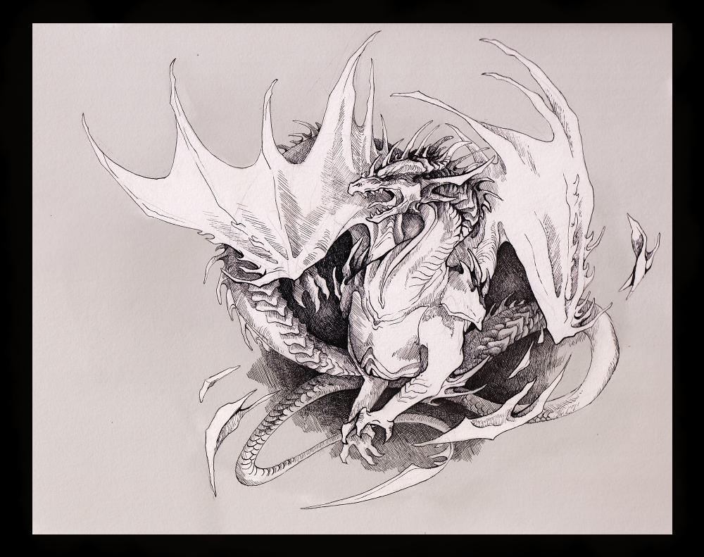 Bladed Wings by Mystalia