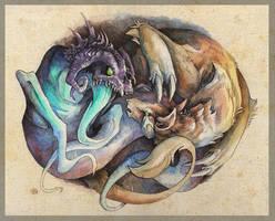 Ourobouros (final) by Mystalia