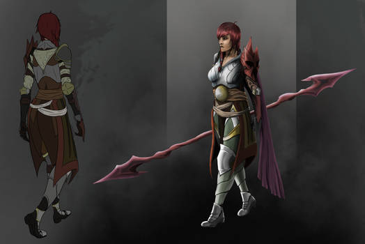 Girl fighter concept by Neka-kun