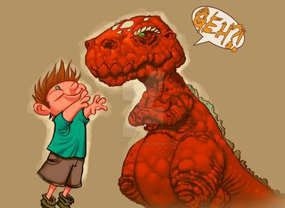 T-Rex Huggles!