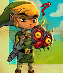 Link and that mask~