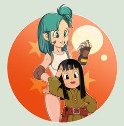 Bulma and Mai
