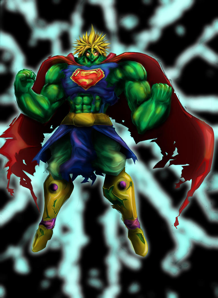 fusion broly hulk superman by wacko27 on DeviantArt