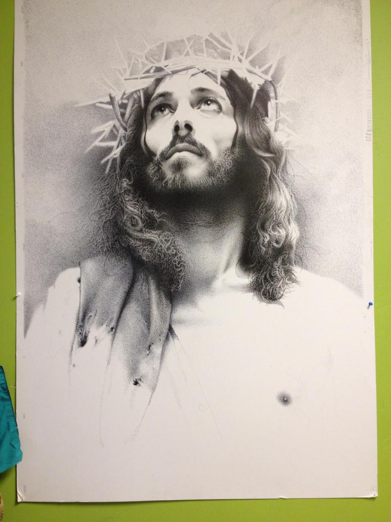 Jesus by amraa