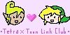 Tetra x Toon Link Club icon by AzaAran