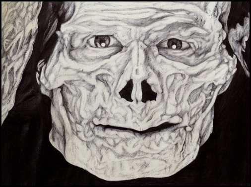 Skeletor by jaredmichaelpihl