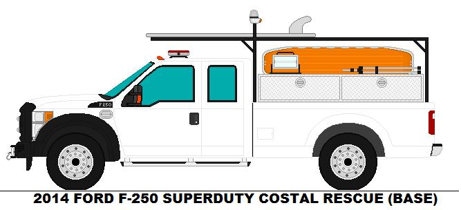 2014 Ford F 250 Superduty Coastal Rescue Base By Scfdunit1