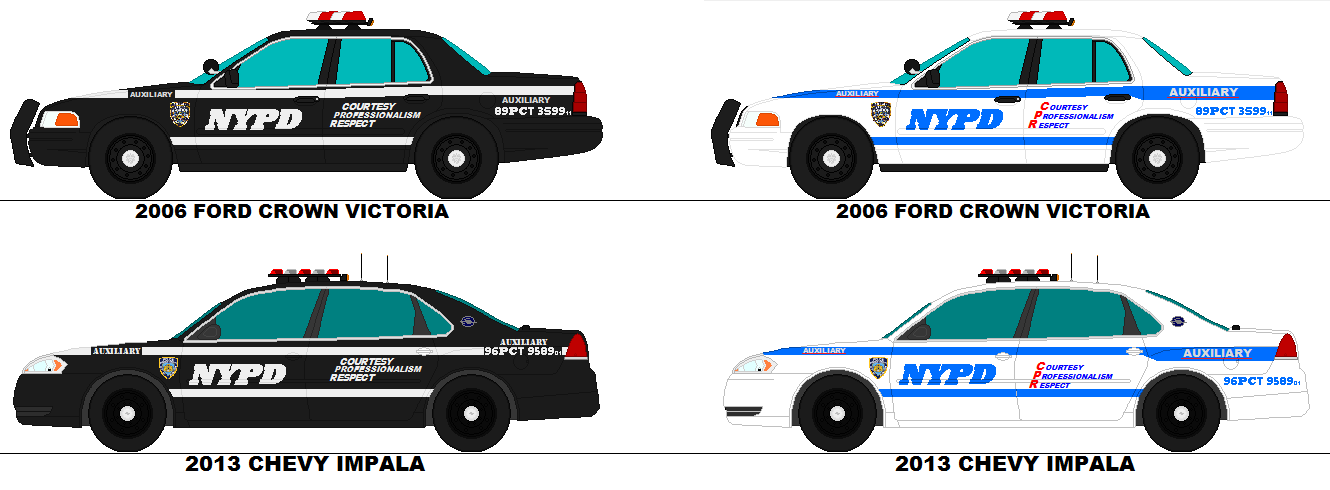 Nypd Crown Vic And Impala Aux Rmp S By Scfdunit1 On