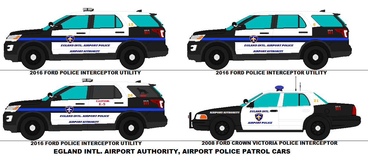 Egland Intl Airport Authority Police Patrol Cars by scfdunit1 on ...