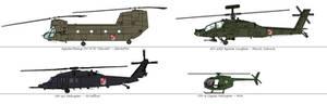 Attack On Titan Au - Garrison Airforces, Helicopte