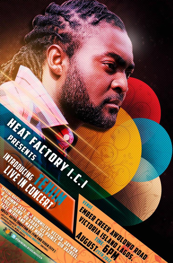 Design poster for concert - Concert Poster Design By Etubi92