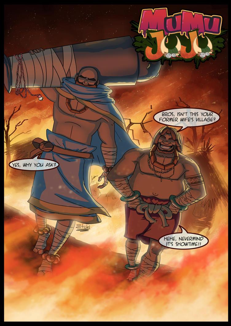 Mumu Juju is here by etubi92