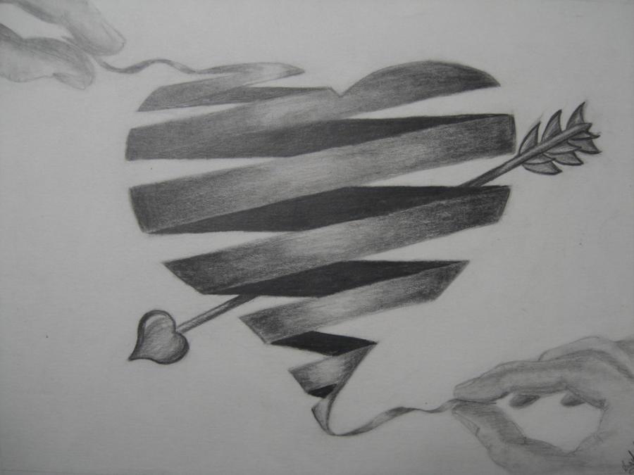 Heart Ribbon by gsoldi...