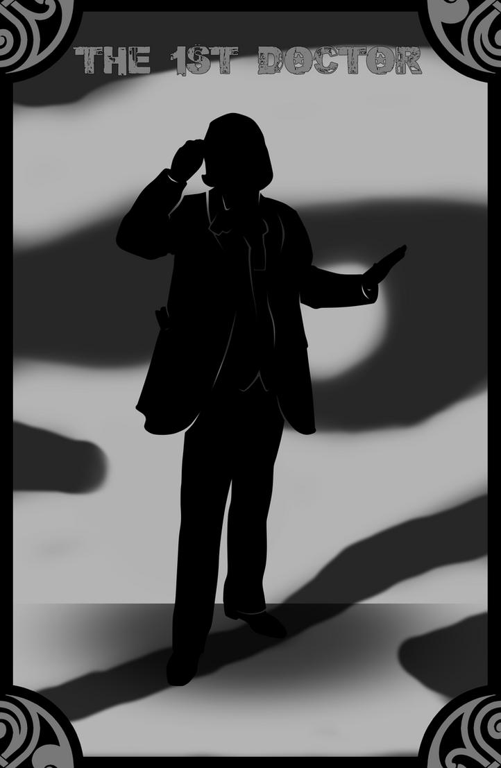 William Hartnell/The 1st Doctor by Shido-Tara