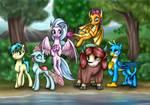 MLP FiM Season 8 new characters [commission]