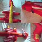 Dragon plushie #2[commission] by Shido-Tara