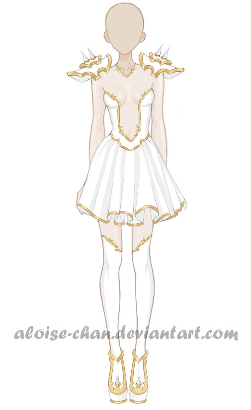 [OPEN] Light Armour Adoptable by Aloise-chan