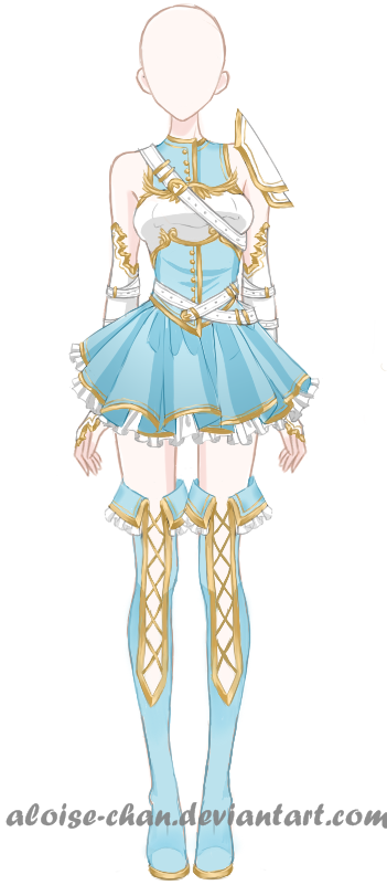 [SOLD] Savior Armour Adoptable by Aloise-chan on DeviantArt