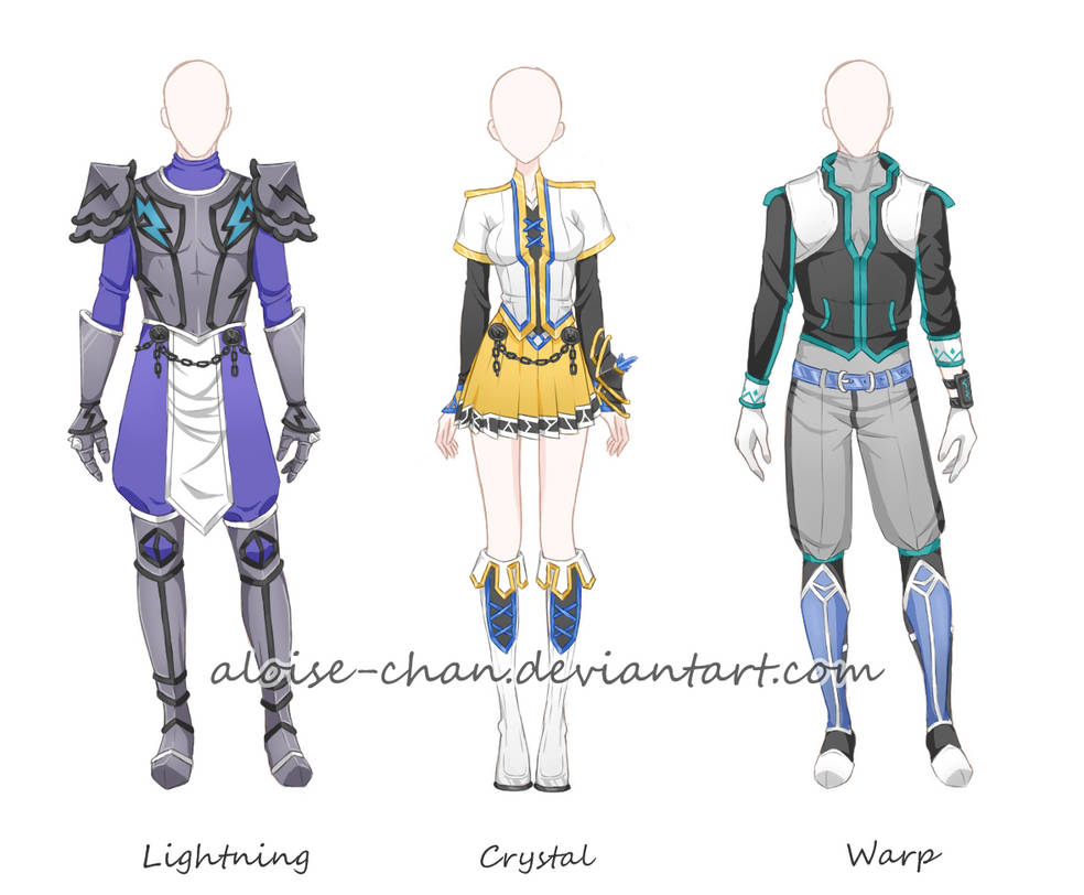 [CM] Hero Armour Character Sheet @ChaosPhantom444 by Aloise-chan
