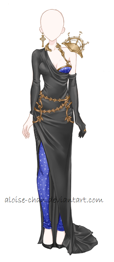 [OPEN] Astrology Armour Adoptable by Aloise-chan