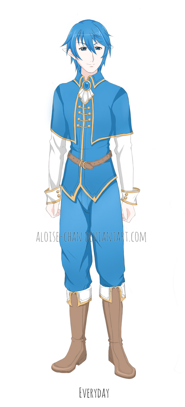 OC Arion Outfit Sheet by Aloise-chan