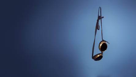 Brass Goggles on Blue1920x1080 by syntaxerroronlinenul