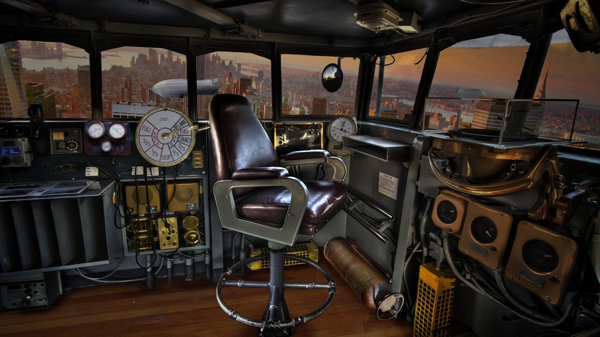 Airship Cabin 1920x1080 by syntaxerroronlinenul