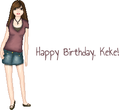 Keke's Birthday by Evelyn-arts